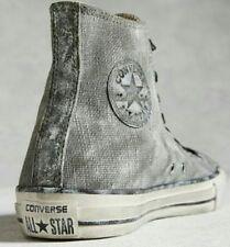 NIB $160 Converse by John Varvatos CT Hi White Washed Canvas 151292C US Mens 7
