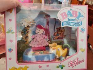 Baby Born Mini World Sandpit bnib
