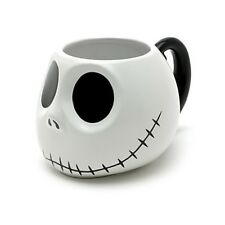 NEW DISNEY STORE JACK SKELLINGTON 3D MUG CUP NIGHTMARE BEFORE CHRISTMAS
