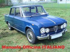Alfa Romeo GIULIA Manuale Officina Riparazioni Manutenzione ITALIANO SU CD