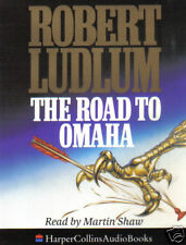 THE ROAD TO OMAHA - Robert Ludlum (Cassette Audio Book)