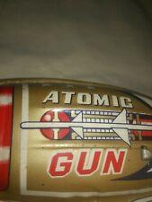 Tin lithograth Atomic Space Gun toy