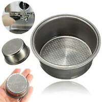 2 Cup Coffee Filter Basket Non Pressurized For Breville 51mm Stainless Steel Hot