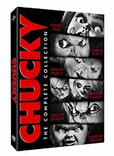 Chucky The Complete Collection Limited Edition Childs Play Movie DVD New Box Set
