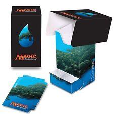 New Ultra Pro Mana Five 5 Lands Deck Box 86532 - MTG- Unhinged Island Art -Magic