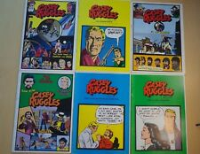 Collection of 6 Casey Ruggles By Warren Tuft Western Winds 1949-51 Daily Strips