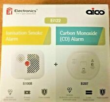 Ei Kitemarked Smoke & Carbon Monoxide Alarm Detector Ei122 Batteries Included