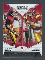 2019 Contenders Draft Picks Legacy  #19  CARSON PALMER / MARCUS ALLEN