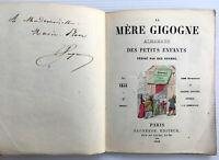 1850 PAGNERRE SIGNATURE MERE GIGOGNE JOLIES GRAVURES COULEURS CHARMANT ENFANTINA