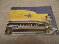 Vintage Original 1955 Oldsmobile Sales Brochure Ninety-Eight Super 88