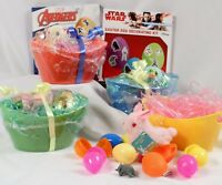 Easter Egg Dye Kit with  Star Wars Avengers Mini Basket Toys and Eggs to Fill