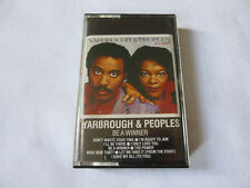 YARBROUGH & PEOPLES ~ BE A WINNER ~ RARE 1984 FUNK/SOUL/DISCO CASSETTE TAPE