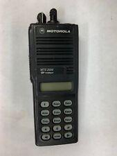 Motorola Mts 2000 Flashport Handie Talkie Fm Radio