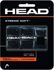 HEAD XtremeSoft Overgrip Nero Overgrip, Grip per Padel Squash Badminton