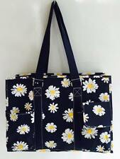 Multi Pocket XLarge Organizer Tote Bag Nurses Teachers Moms Canvas Handbag Gift