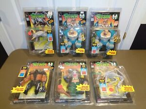 Lot of 6 Spawn Series 1 One Action Figures Collection Violator Clown McFarlane