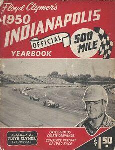 Floyd Clymer's 1950 Indy 500 Yearbook