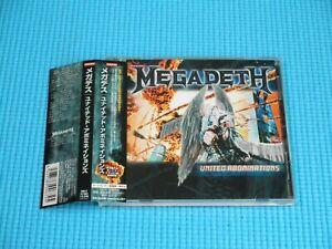 MEGADETH United Abominations w/Bonus Track 2007 CD Japan RRCY-21285 OBI