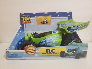 Disney's Toy Story RC Free Wheel Buggy Thinkway Toys Collectible Brand New