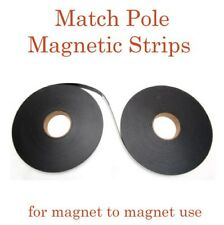 """MATCH POLE MAGNETIC TAPE - Set A and B - 1"""" x 100' long"""