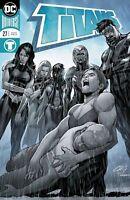 Titans #27 DC Comics Universe 2018 Foil Cover A 1ST PRINT