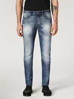 RRP £300 Diesel THOMMER Blue Slim-Skinny Fit Jeans Size W30 W31 L32