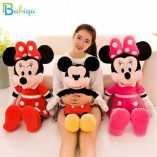 40-100cm Mickey Mouse and Minnie Mouse Soft Plush Toys Stuffed Cartoon Figure