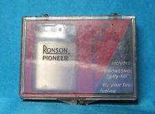 Collectable Vintage English Ronson Pioneer Lighter.
