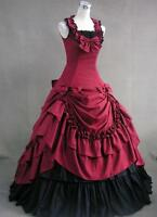 New Women Adult Southern Victorian Ball Gown Gothic Lolita Cosplay Costume Dress