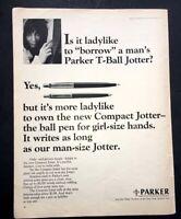 Life Magazine Ad PARKER PENS 1965 AD