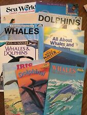 BOOKS REPRODUCIBLES whales dolphins GUC