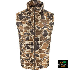 DRAKE WATERFOWL SYNTHETIC DOWN INSULATED PAC PACKABLE VEST - OLD SCHOOL CAMO