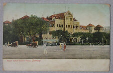 1906 Postcard Royal Alfred Sailors Home Bombay India From Cama House Poona