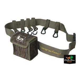 BANDED GEAR TIMBER STRAP GUN HOLDER SHELL POUCH TREE SWAMP BOTTOMLAND CAMO