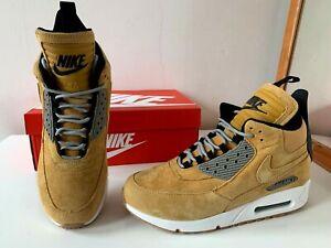 Nike Air Max 90 Sneakerboot Suede bronze wheat 9 UK / 44 EU