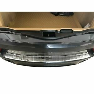 SEUIL COFFRE BMW X5 E70 02/2006-06/2013 PARECHOC ARRIERE INOX BRILLANT