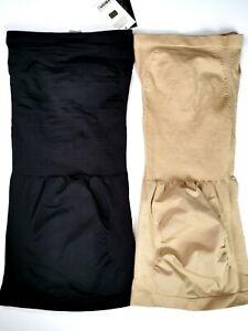 2 x Mestige Black & Nude Full Body Shapewear Size S New Bundle