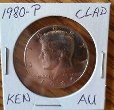 1980-P 50C Kennedy Half Dollar Almost Uncirculated Wow! Add to your Collection!