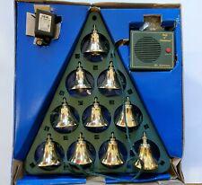 Vtg MR CHRISTMAS Bells of Christmas Lighted Musical Bells 15 Song 10 Bells 90s