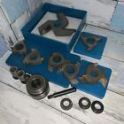 SY Carbide Tipped 3 Wing Shaper Cutters 3/4' Bore with 1/2' Bushings 7 Total