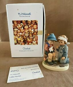 Little Nurse Goebel Hummel Figurine vintage in box boy and girl 376 medicine