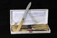 Service de 12 couteaux Art Déco, bakéite / set of 12 knives, bakélite, Art Deco