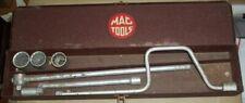 Vintage MAC Extension Ratchet Tool Set- (7 piece) With Case