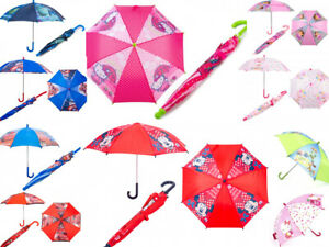 Children Kids Toddler Umbrella Official Disney Rain School Walking Dome