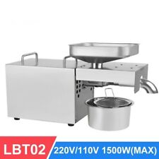 Automatic Cold Oil Press Machine Extraction Rate Extractor Peanut Coconut Olive
