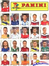 2014 Panini World Cup Stickers Complete 71 Sticker Limited Edition UPDATE SET !!