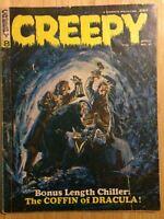 Creepy (1965) #8 Horror Magazine Black and White Dracula Warren Publishing