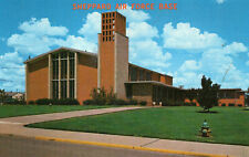 postcard USA Texas  Sheppard Air Force Base chapel no 1 un posted