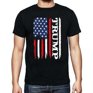 Donald Trump President T-shirt 2024 Elections USA Flag MAGA Trump For President