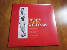 LARRY WILLIAMS Here's Larry Williams LP SEALED! 2011 REPRESS ROCK N ROLL